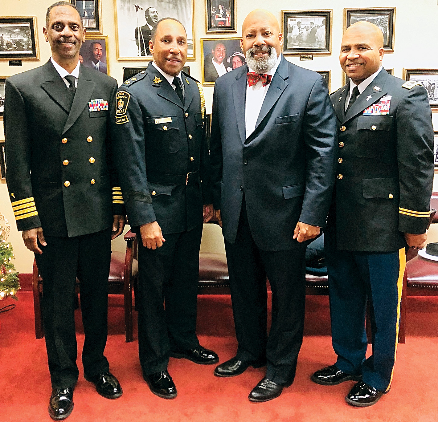 Dr. Edwards & Chaplains