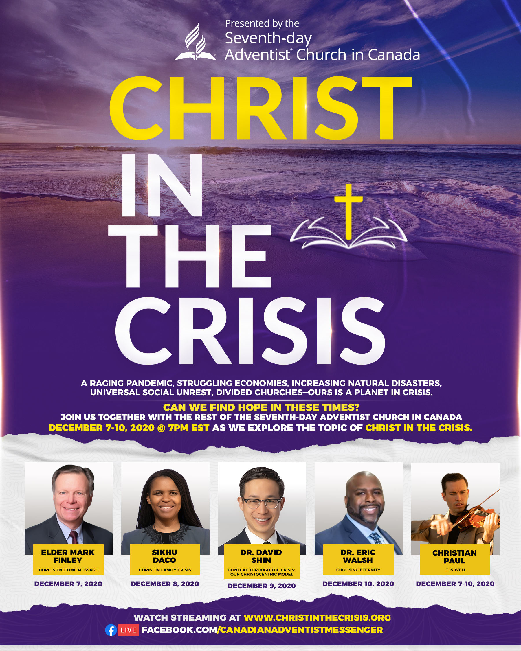 Christ in the Crisis Flyer - English